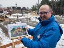 Attractiepark Slagharen maand voor nieuw seizoen nog grote bouwput