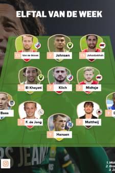 El Khayati veruit het sterkst in gemiddeld elftal van de week