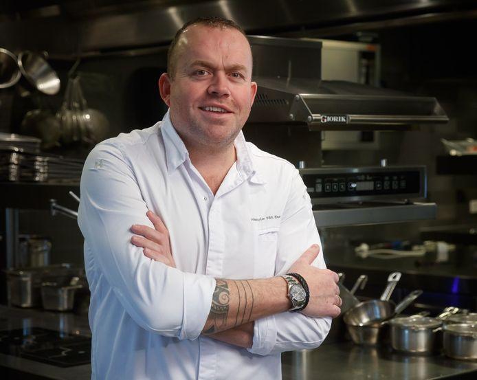 Michelinster-chefkok Henrie van der Heijden. Hij wordt binnenkort meesterkok.