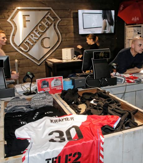 Fanshop FC Utrecht doelwit van inbrekers