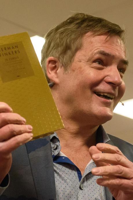 Gouden boek voor Finkers, die nooit een boek schreef