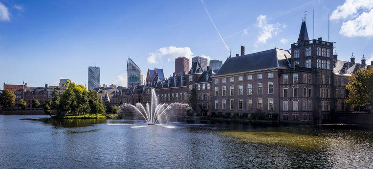 De Hofvijver bij het Binnenhof. Beeld anp