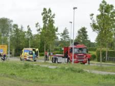 Fietser gewond op rondweg Elburg