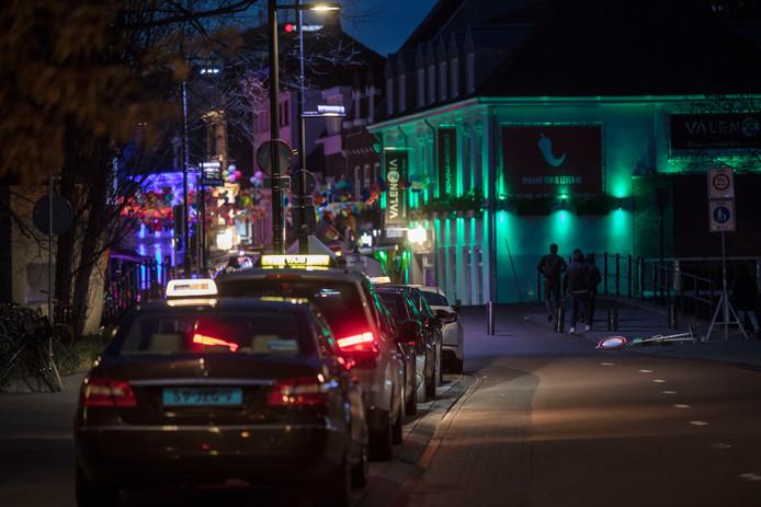 De taxistandplaats op de Stratumsedijk in Eindhoven.
