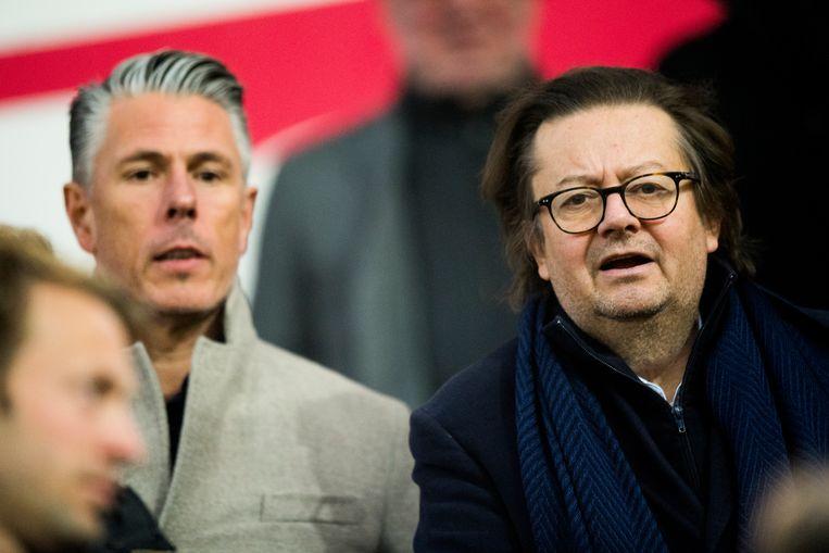 Michaël Verschueren en Marc Coucke.