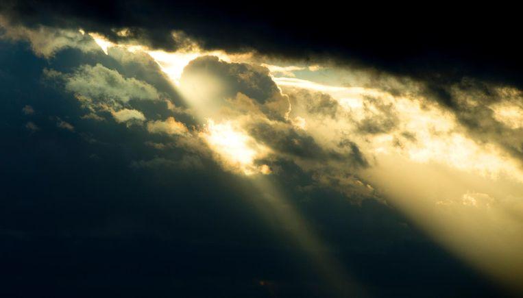 Wolken maken plaats voor de zon. Beeld anp