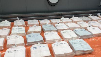 Ruim drie ton cocaïne gevonden in container met houtskool