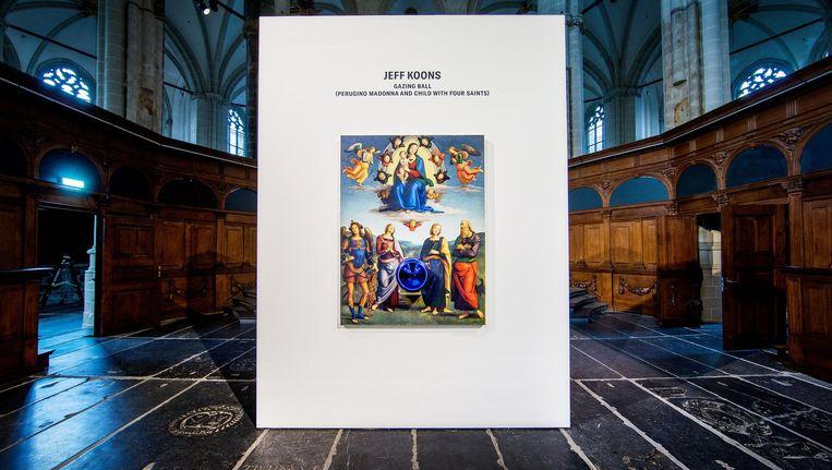 Gazing Ball van Jeff Koons in De Nieuwe Kerk, verkozen tot Meesterwerk 2018 Beeld Jean-Pierre Jans