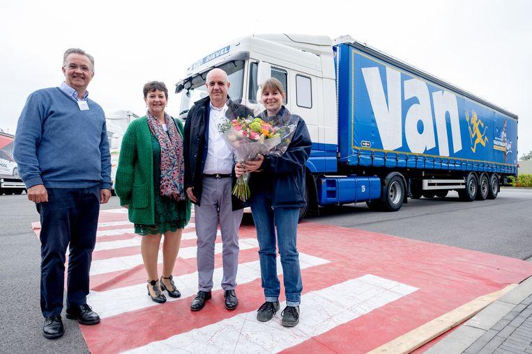 kick-off van de nieuwe opleiding Vrachtwagenchauffeur ingericht door Crescendo CVO in Sint-Katelijne Waver