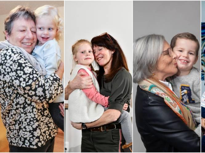 """Deze oma's kozen net als Martine Tanghe hun kleinkind als knuffelcontact: """"Zij zijn onze lichtpuntjes"""""""