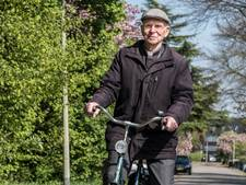 'De fietsende deken' Everard Huisman (93) van Gennep is overleden