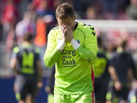 Elf keer de bal uit het net vissen in een week is nieuw voor FC Utrecht-goalie Jensen