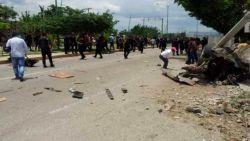 Defecte vrachtwagen rijdt in op menigte in Mexico: zeven doden en negen gewonden