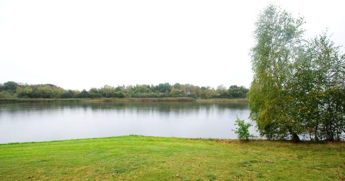 Het Rutbeek, gezien vanaf de landtong