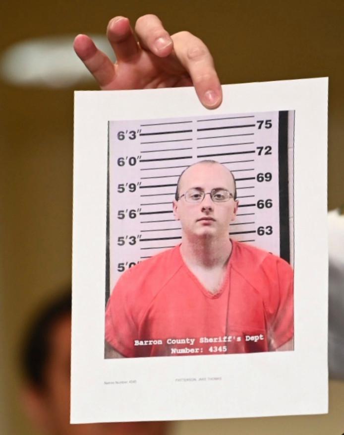 Verdachte Jake Thomas Patterson.