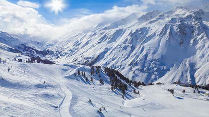 Eerste sneeuw valt in de Alpen