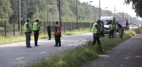 Gaslek naast spoor in Eindhoven, Achtseweg Zuid afgesloten in beide richtingen