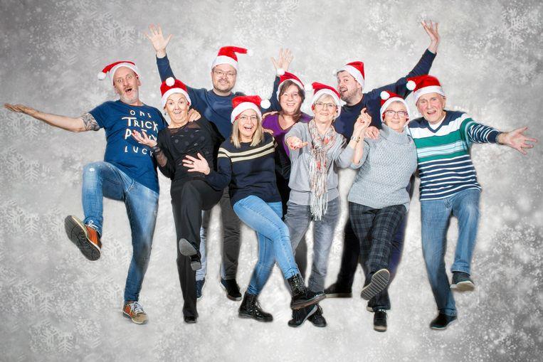 De kerstperiode staat centraal bij het nieuwe toneelstuk van MAVO.