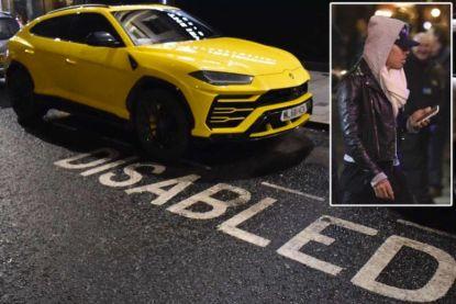 Liverpool-ster parkeert peperdure Lamborghini... op gehandicaptenplaats
