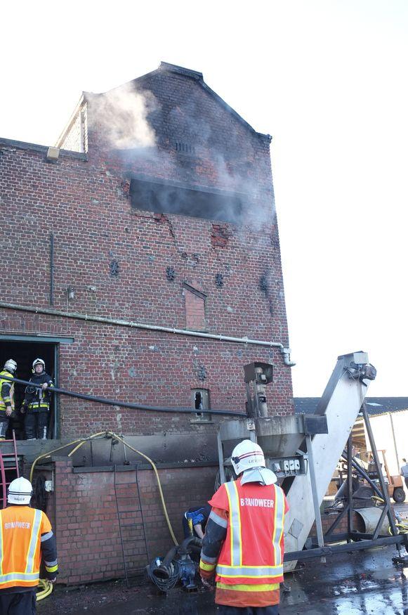 In december 2015 woedde wel al eens een brand in de cichorei-ast in de Molenstraat in Passendale, de schade was toen aanzienlijk.