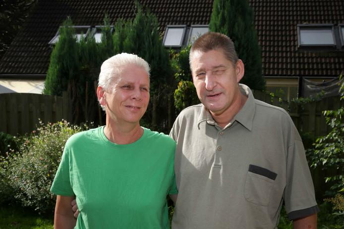 Perry Soerink en zijn vrouw.