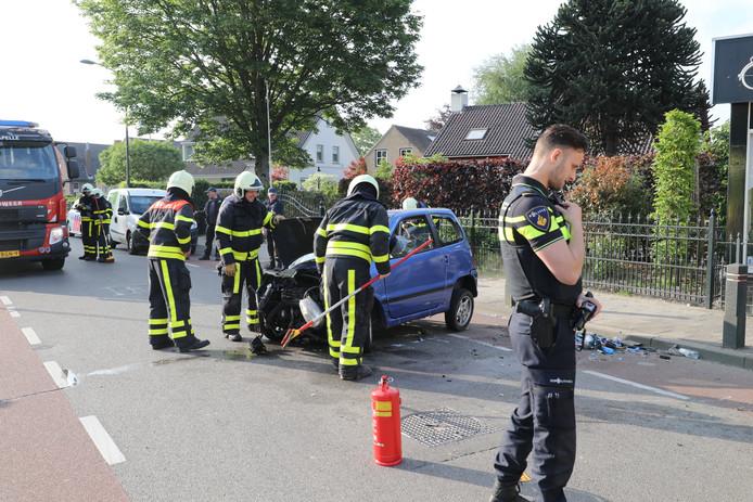 Ongeluk met 45-kilometerwagen in Sprang-Capelle.