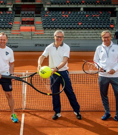 ATP-toernooi Hamburg laat dagelijks 2300 toeschouwers toe