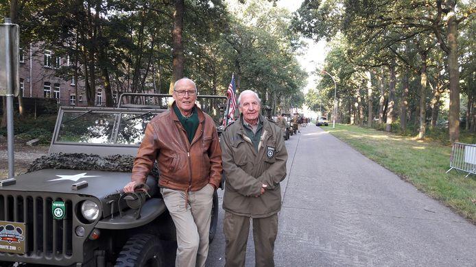 Joost Walraven en Evert van Ballegooijen.