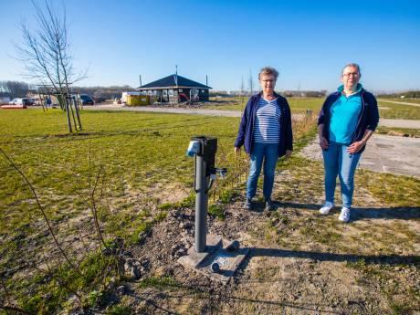 Na maandenlang hard werken blijft spiksplinternieuwe camping in Driemanspolder dicht