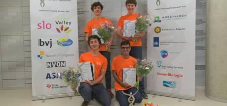 Acht leerlingen uit regio Eindhoven naar landelijke Biologie Olympiade