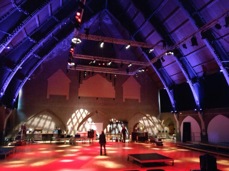 De Lourdeskerk als cultureel podium tijdens het Internationaal Kamermuziekfestival. Beeld Hans van Rooy