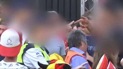 Groepje Belgen van allochtone afkomst maakt amok tijdens Rode Duivels-match in Genk