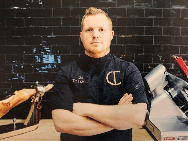 Gil Tossins is fier dat hij straks ook de artisanale producten van BROOD. mag verkopen.