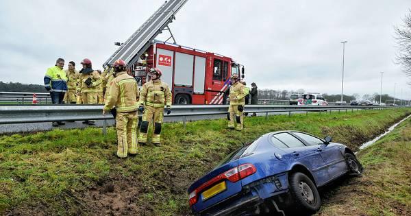 Ongeluk op A58 bij Moergestel: één rijstrook dicht tussen Eindhoven en Tilburg.