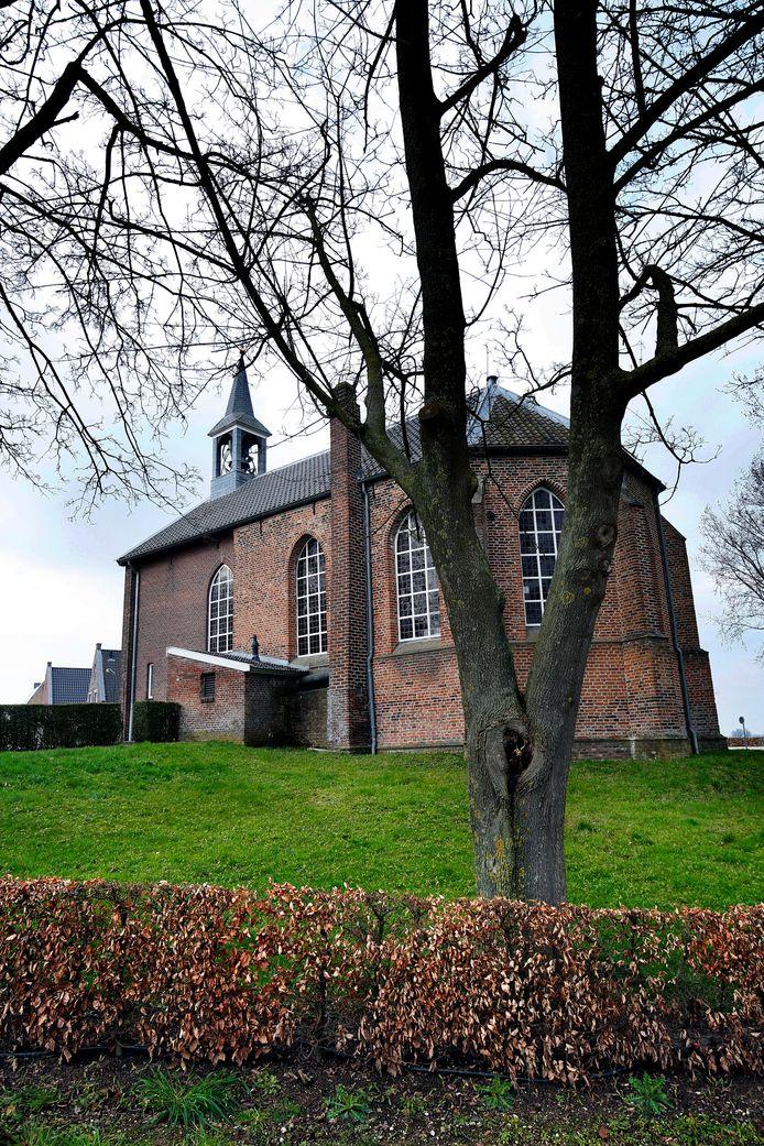 De kerk in Giessen.