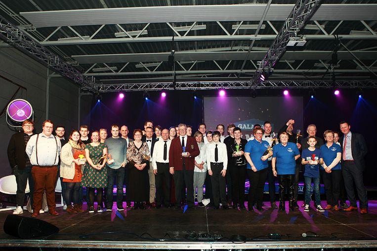 Alle winnaars op het Gala van Ingelmunster 2020 op een rijtje.