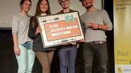 Studenten ontwerpen vuilnisbak met wifi