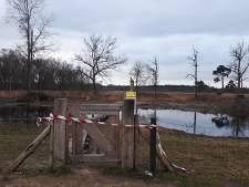 Zeven bezoekers afgesloten natuurgebied Wooldse Veen op de bon