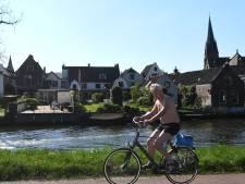 Drukte op fietsroutes: 'Van mij mag het de hele zomer zo zijn'