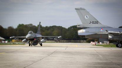 'Russische' bellers intimideren partners Nederlandse F-16-piloten; aan Navo-missie namen ook Belgen deel