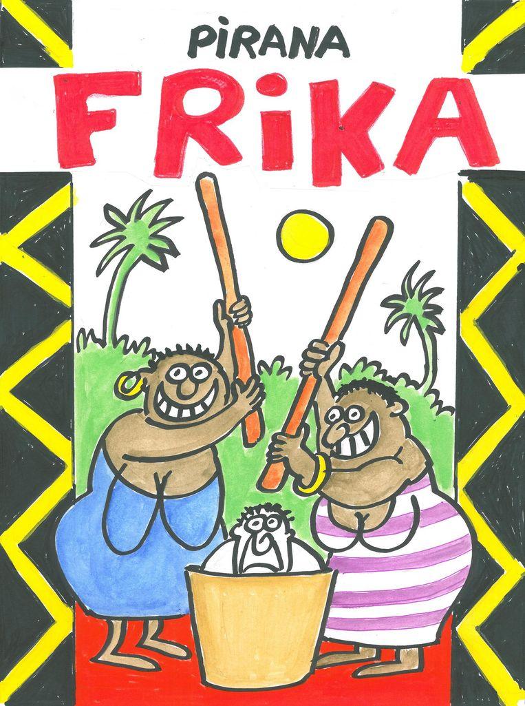 De cover van 'Frika'.