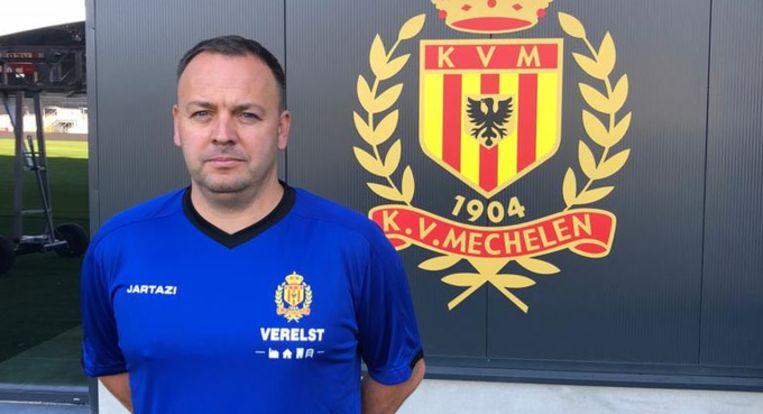 Bart Janssens is de nieuwe T2 van KV Mechelen