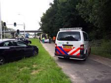 Wielrenster gewond aan hoofd na harde val in Arnhem