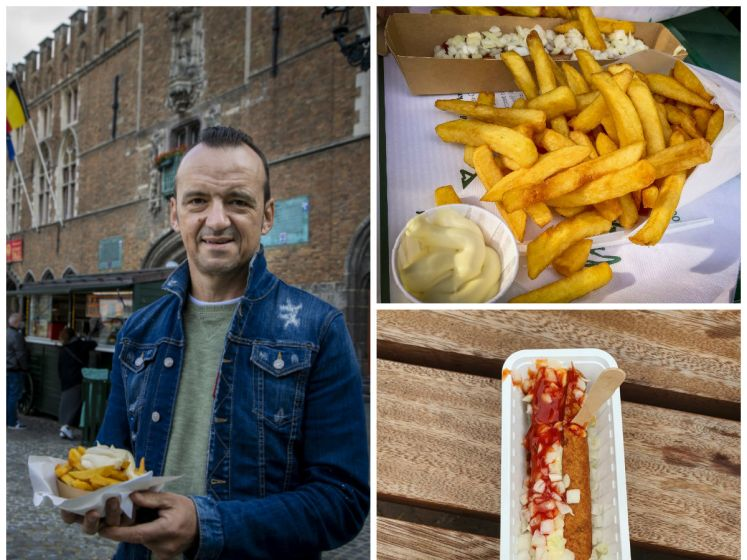 """Sterrenchef Luc Bellings bezoekt bekendste frietkoten van het land: """"Wie dit opeet, heeft er 's avonds nog 'plezier' van"""""""