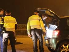 Politie controleert auto's op inbrekers