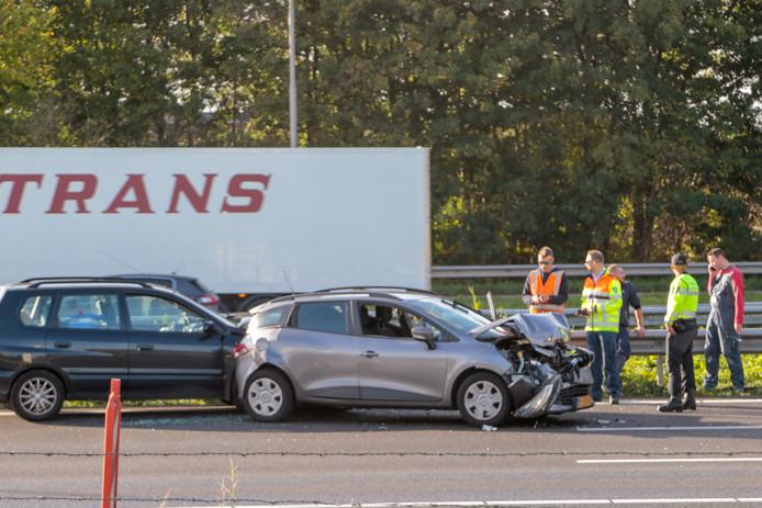 Ongeval op de A16.