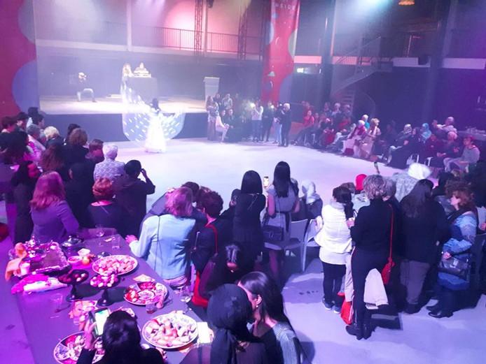 Internationale Vrouwendag vond ook in 2018 plaats in The Inside
