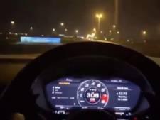 Il se filme à 308 km/h sur l'autoroute, la police l'arrête lors d'un enterrement