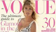 Kate Upton siert de cover van Vogue