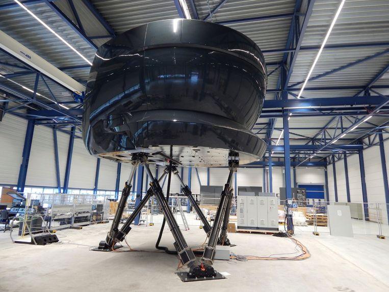 Vluchtsimulator van Avion Group in Nieuw-Vennep. Beeld Avion Group